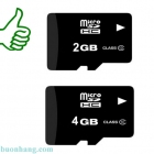 Gía thẻ nhớ 2G, 4Gb