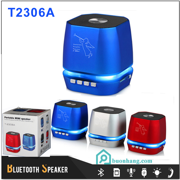 loa bluetooth t2306a