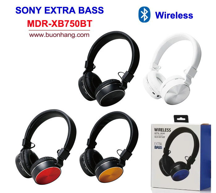 tai sony wireles xb750bt